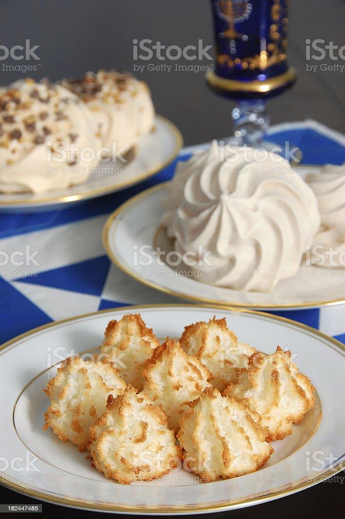 Passover Desserts royalty-free stock photo