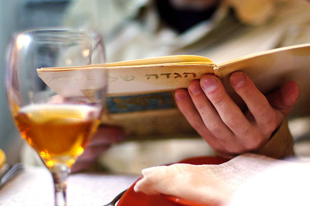passover dinner - passover stock photos and pictures
