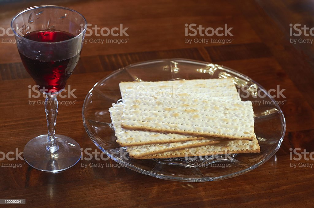 Passover elements royalty-free stock photo
