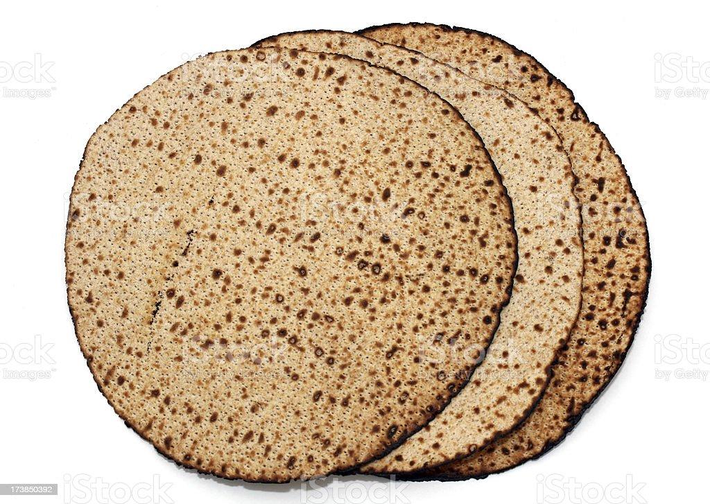 Passover Matzo stock photo