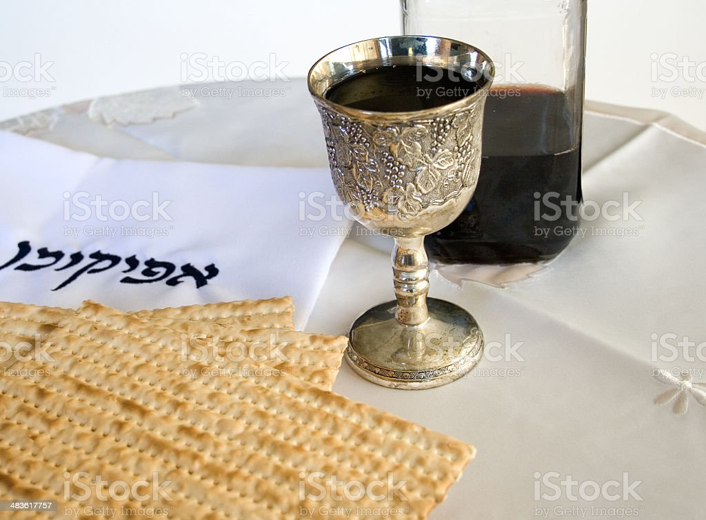 Passover Seder royalty-free stock photo