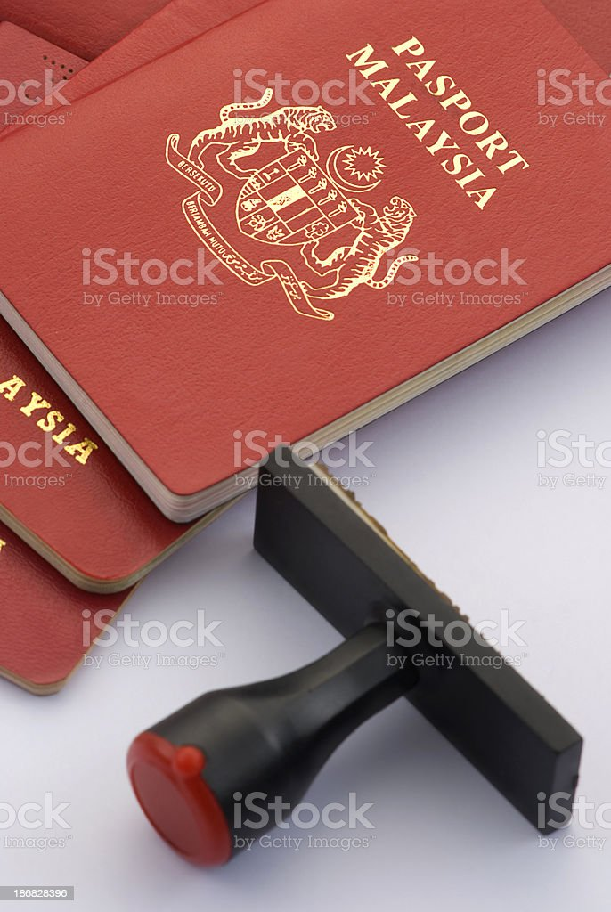 Passport Isolated royalty-free stock photo