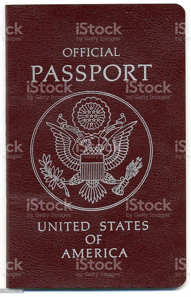 Passport Official stock photo