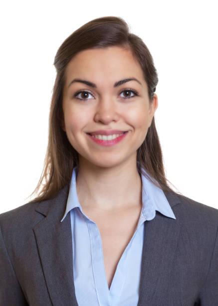 Passport picture businesswoman with brown hair picture id856479974?b=1&k=6&m=856479974&s=612x612&w=0&h=jk9rjcfo0juzvkjdd059kvfmw83kybrltdvpbybzc2g=