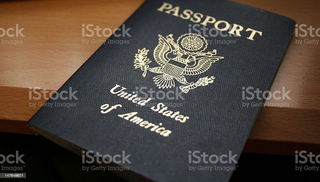 U.S. Passport stock photo