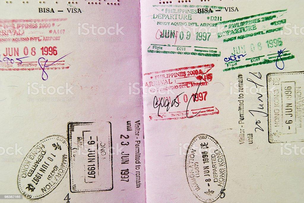 Passport royalty-free stock photo