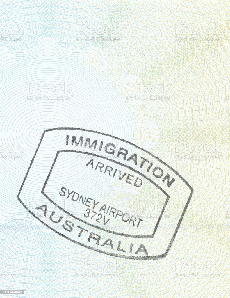 パスポート ストックフォト