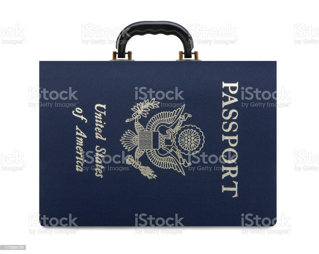 Pasaporte para viajes foto de stock libre de derechos