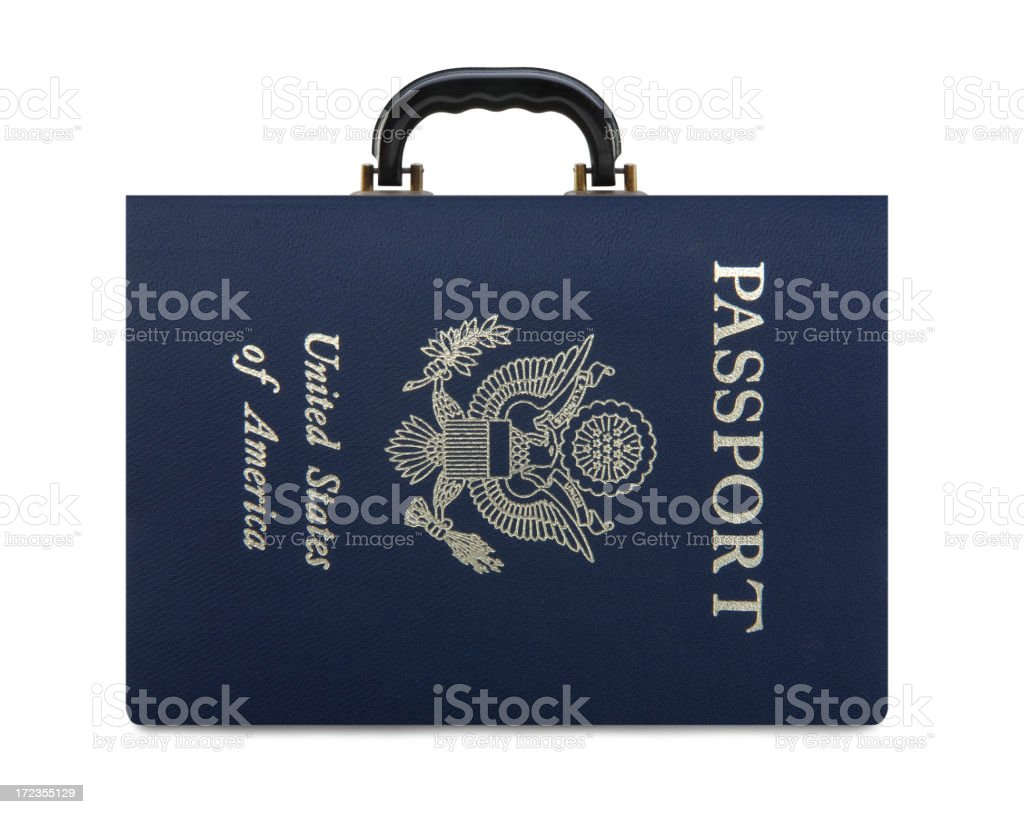 Passport To Travel royalty-free stock photo