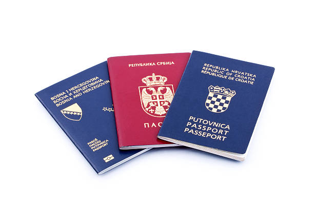 passports - lepro stock pictures, royalty-free photos & images