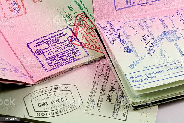 Passports with immigration stamps for asia travel picture id146739952?b=1&k=6&m=146739952&s=612x612&h=gfb878i3jalnixprkhjgbbqlpq9p91jfw9rscpp2ctq=