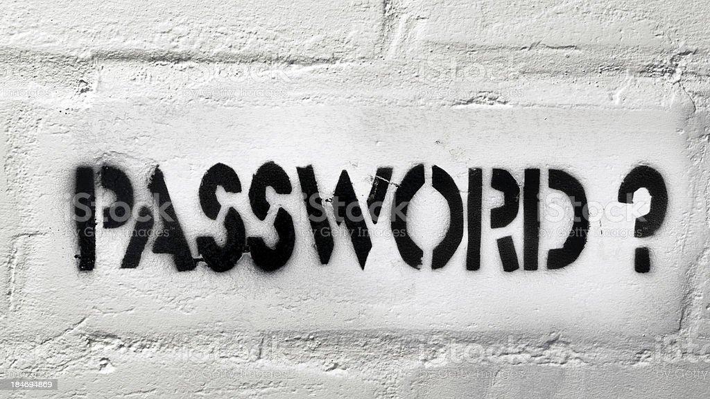 password? royalty-free stock photo