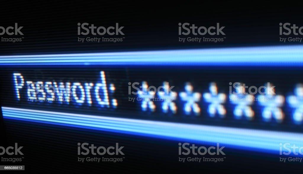 Password - foto stock
