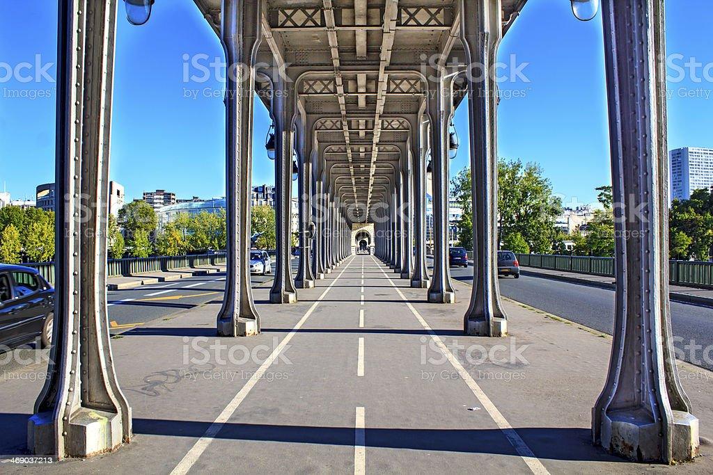Passy bridge, à Paris - Photo
