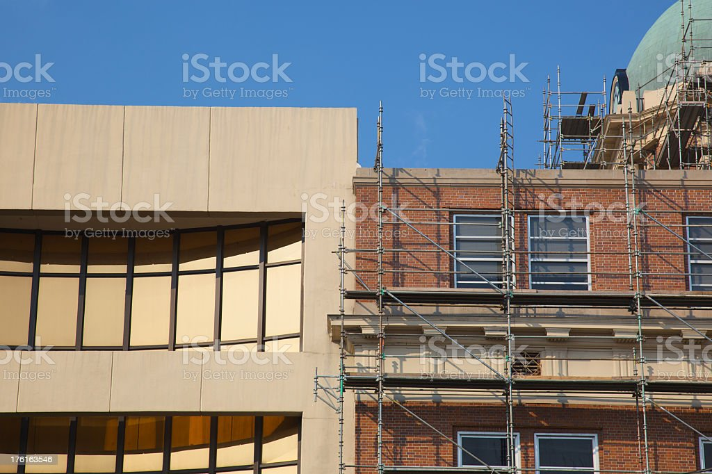 Past and Future of Architecture royalty-free stock photo
