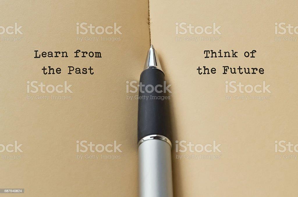 Past and Future - Royaltyfri Alternativ Bildbanksbilder