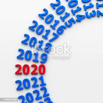 897726248 istock photo 2020 past circle #2 1166642065