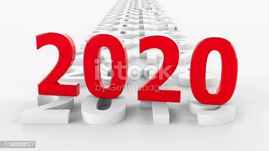 897726248 istock photo 2020 past #3 1190839277