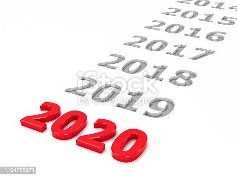 897726248 istock photo 2020 past #2 1194785971