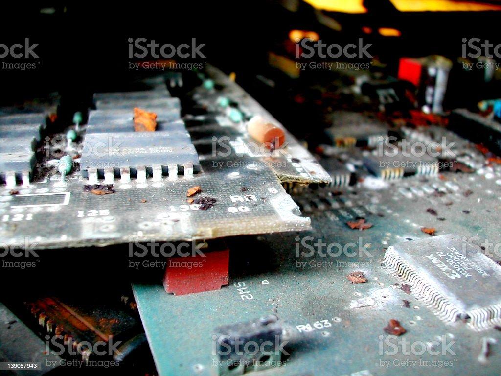 Past technology royalty-free stock photo