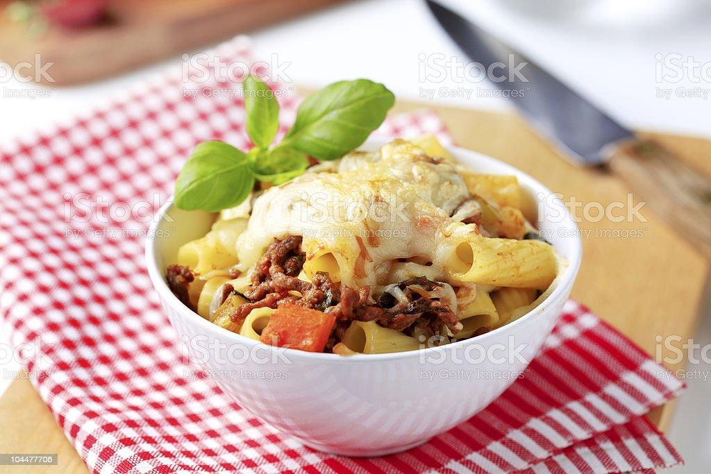 Pasta alla Bolognese stock photo