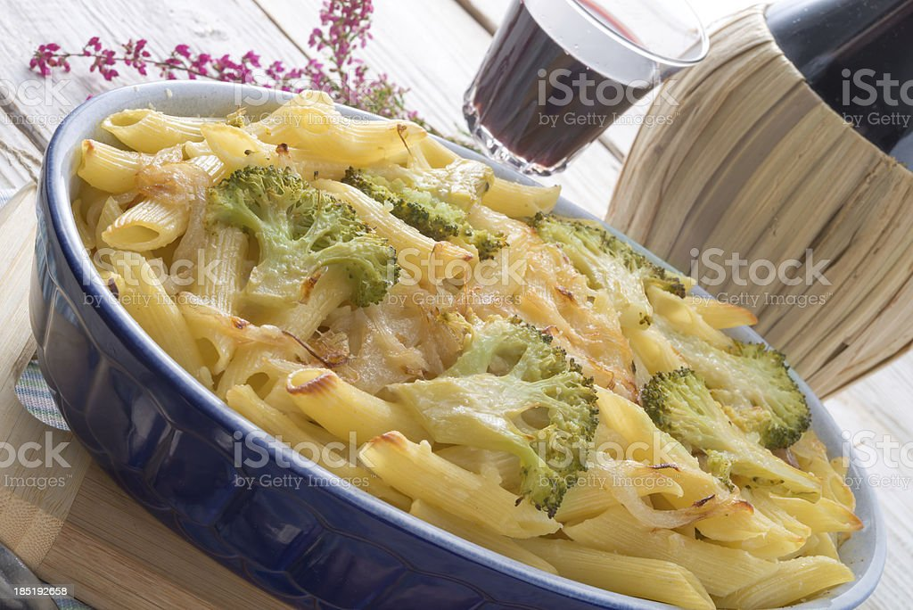 Pasta Casserole with vegetables royalty-free stock photo