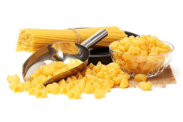 Pasta collection isolated,   on white Pasta collection isolated,   on white uncooked pasta stock pictures, royalty-free photos & images