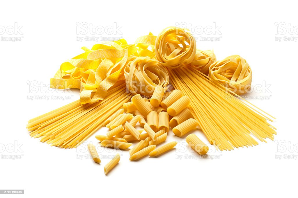 Pasta collection stock photo