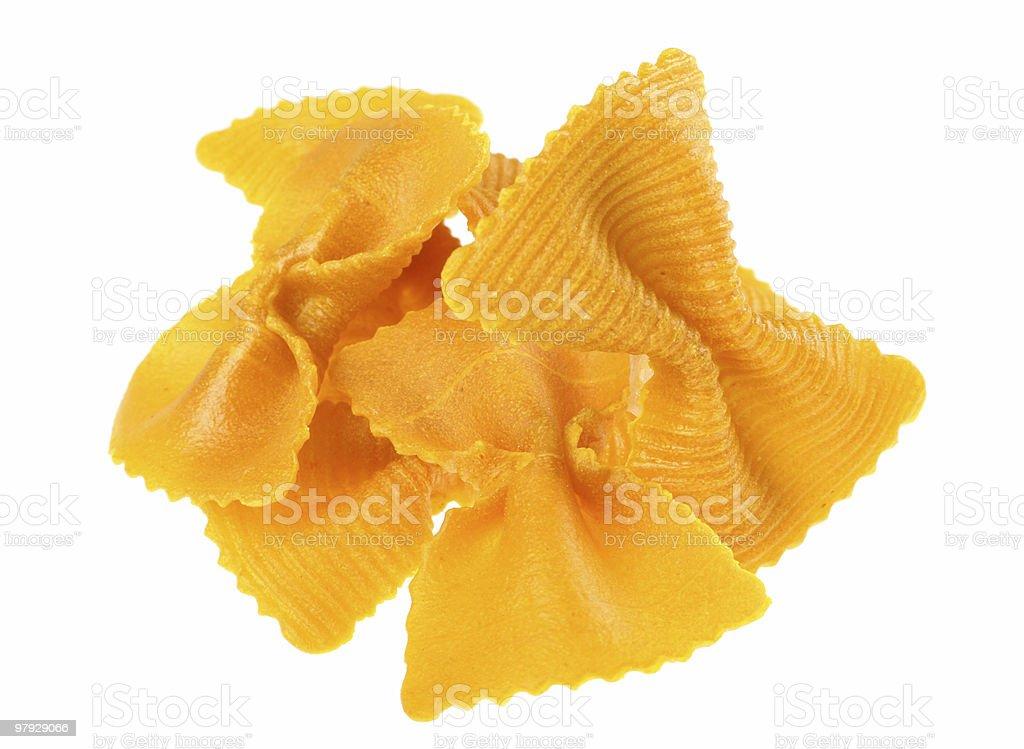 Pasta detail royalty-free stock photo