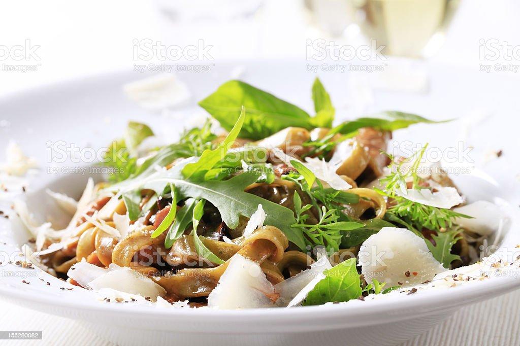 Pasta dish royalty-free stock photo