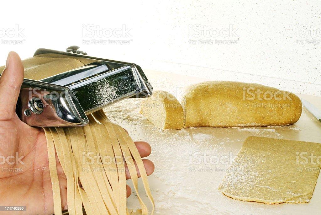 Pasta Homemade royalty-free stock photo