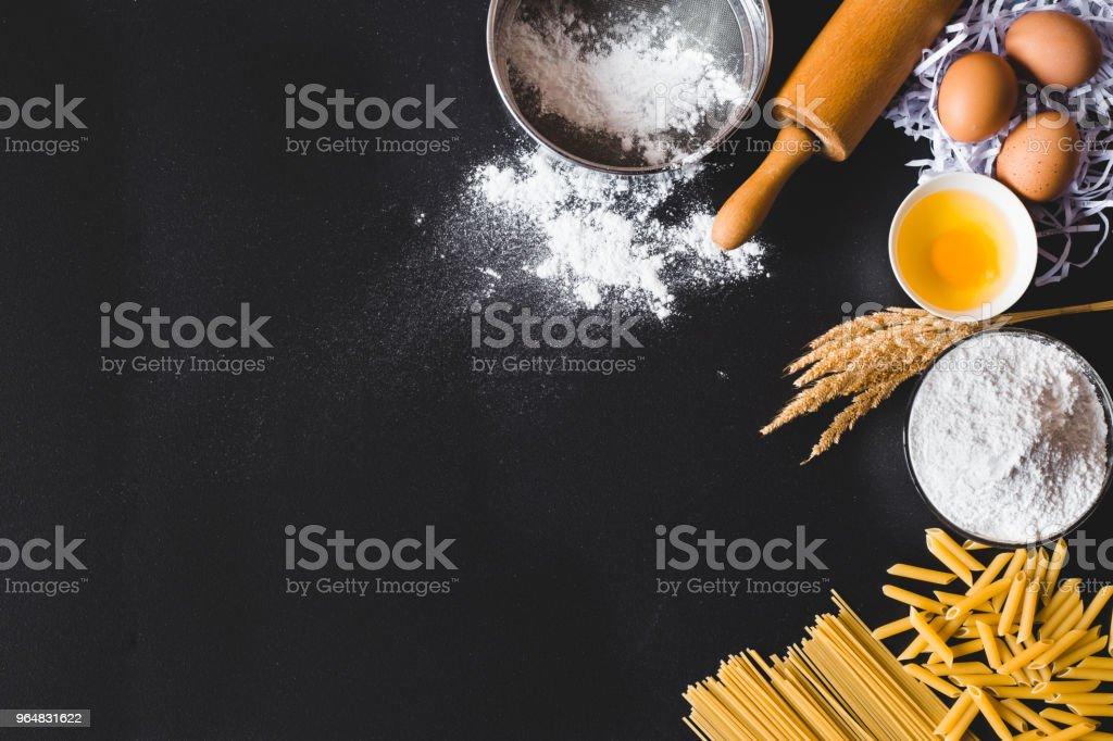 Pasta kitchen royalty-free stock photo