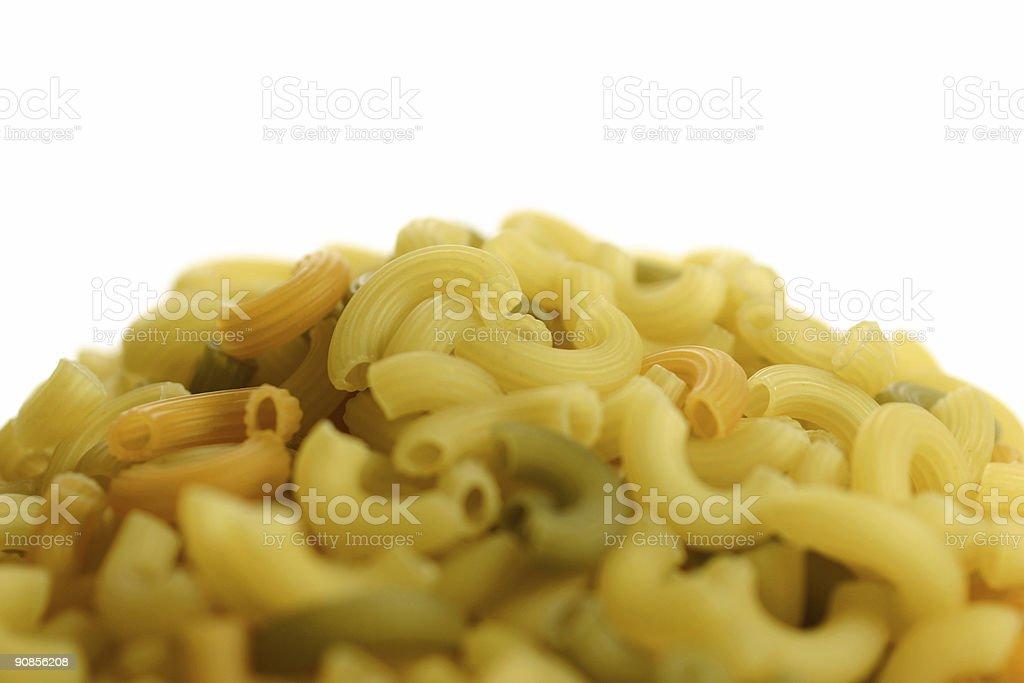 Pasta - Macaroni royalty-free stock photo