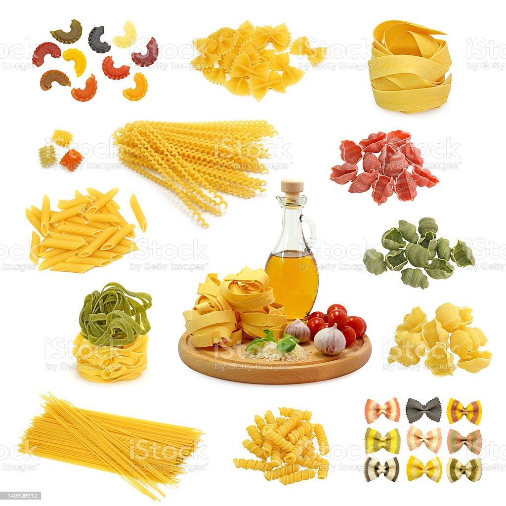pasta mix royalty-free stock photo
