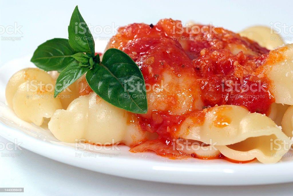 Pasta Neapolitan royalty-free stock photo