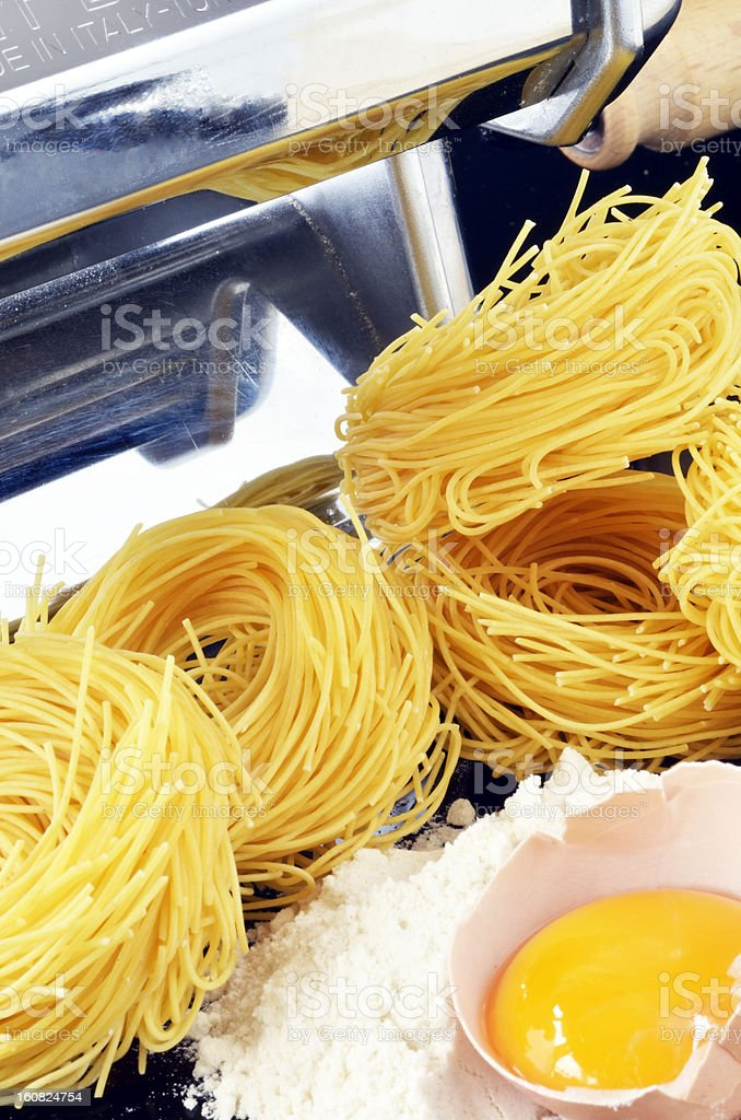Pasta nests royalty-free stock photo