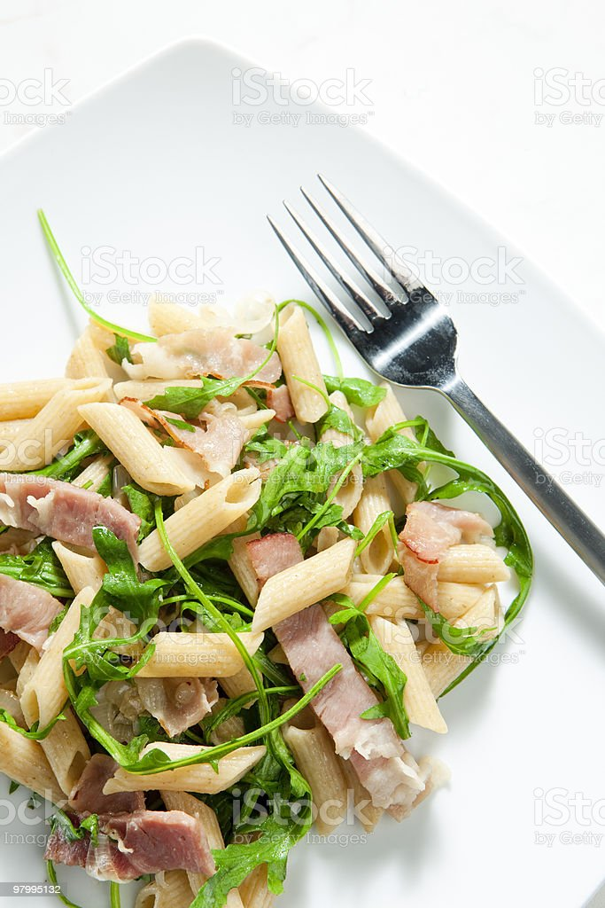 pasta penne royalty free stockfoto