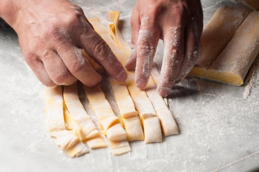 Pasta Foto de stock y más banco de imágenes de Aceite para cocinar