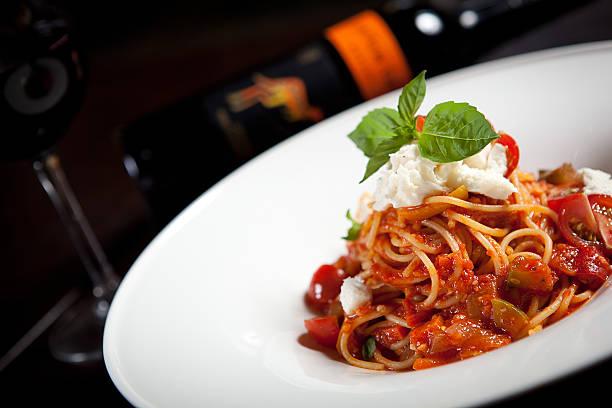 massa - comida italiana - fotografias e filmes do acervo