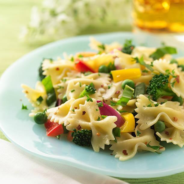 Pasta primavera  primavera stock pictures, royalty-free photos & images