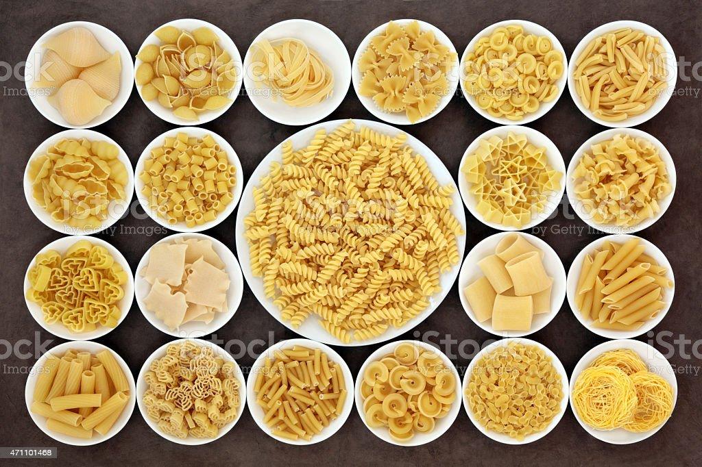 Pasta Sampler stock photo