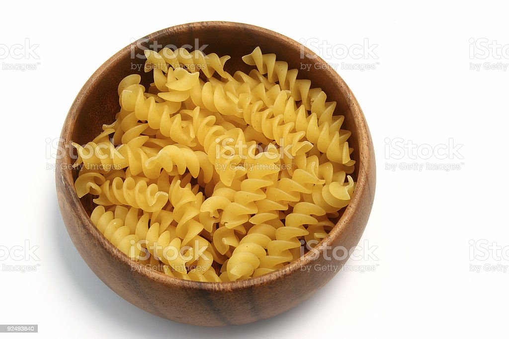 Pasta Spirals 01 royalty-free stock photo
