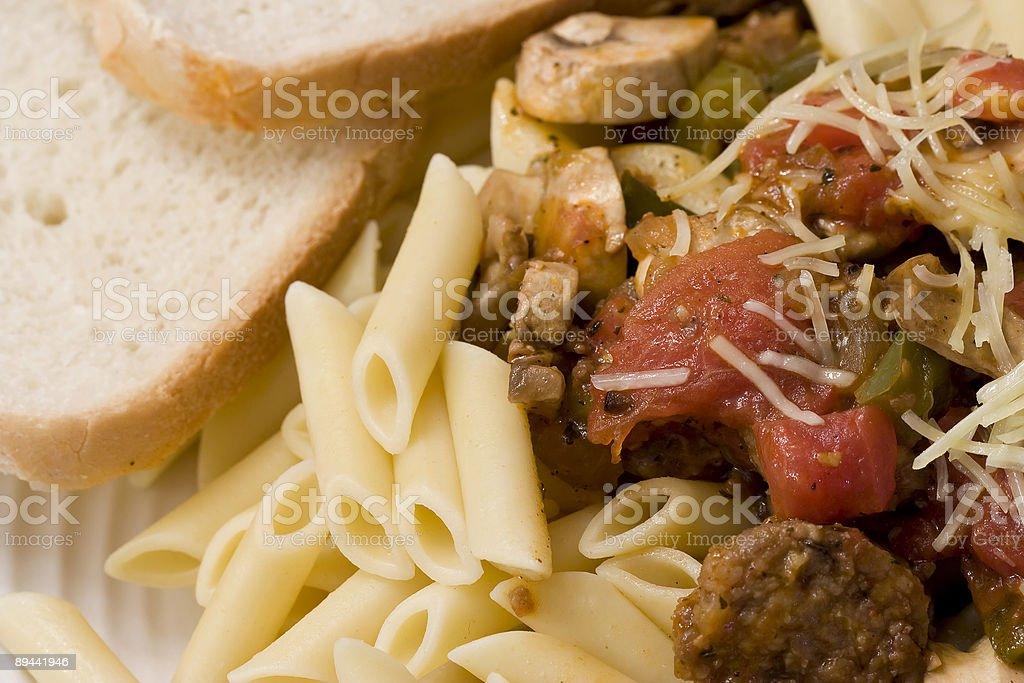 pasta time royalty-free stock photo