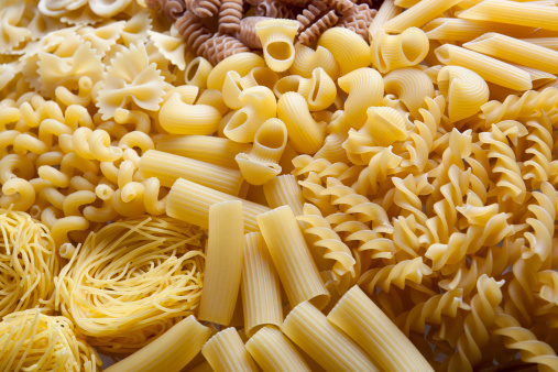 Pasta Variation Stock Photo - Download Image Now