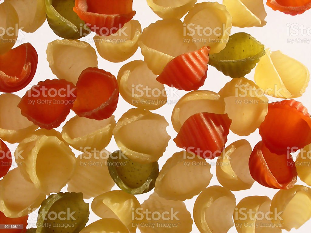 Pasta-Gnocchi 2 stock photo