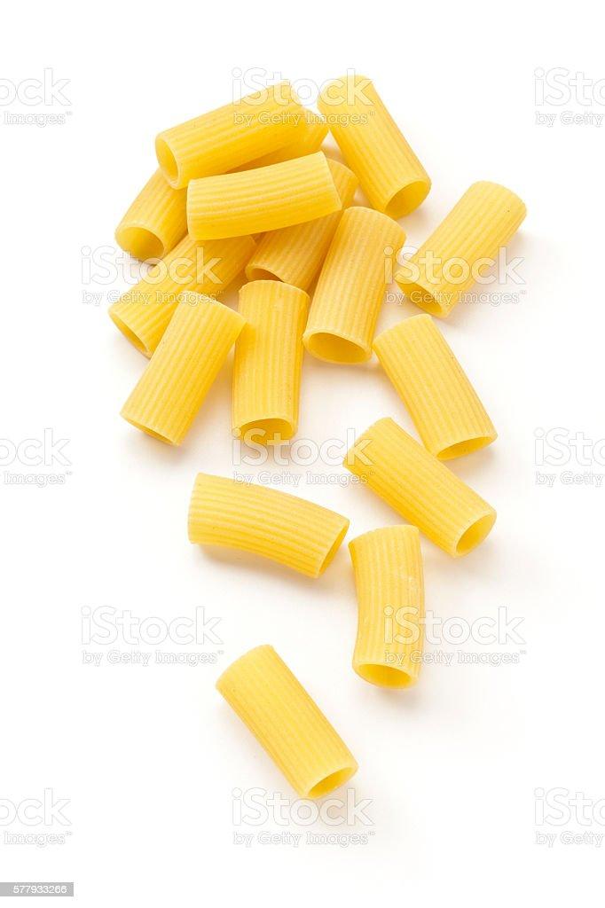Pasta-Rigatoni stock photo