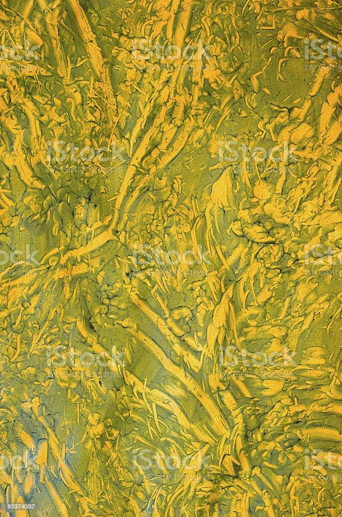 Füge Papier: Grünen und gelben Design Lizenzfreies stock-foto
