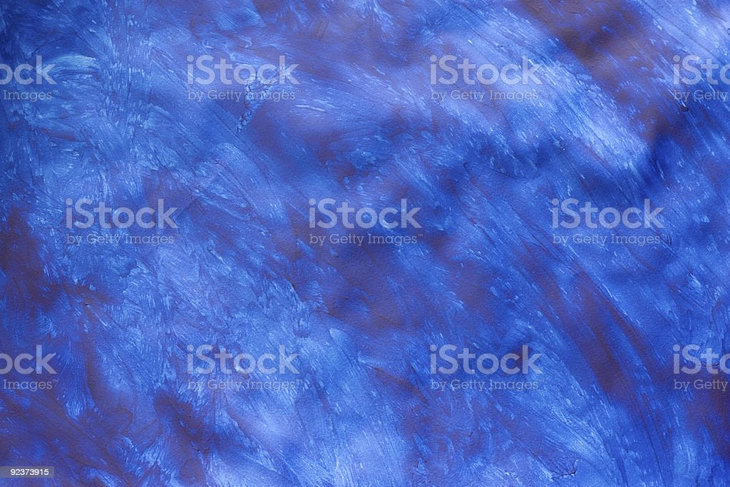 Paste Paper: Something Like the Sea royalty-free stock photo