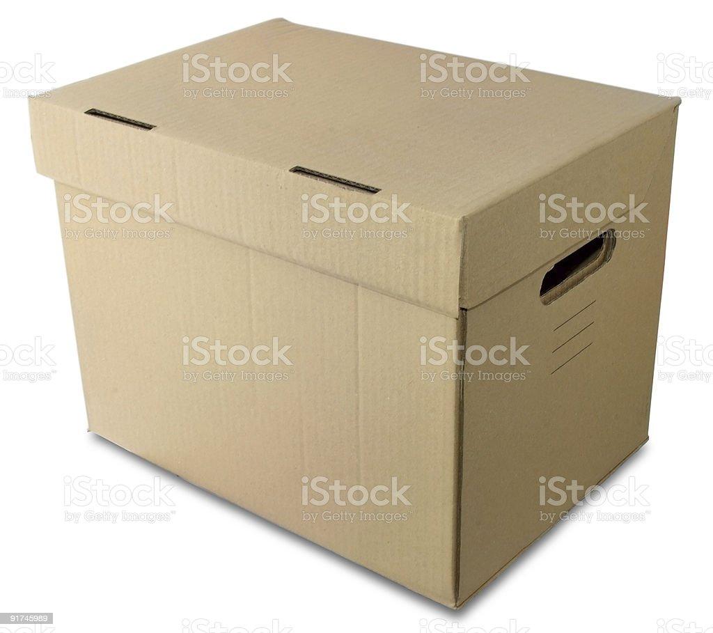 pasteboard box royalty-free stock photo