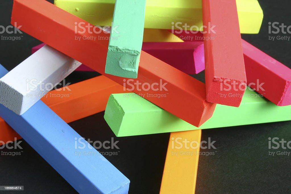Pastel Arrangement royalty-free stock photo